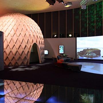 Myös Haltian Suomen luonto -päänäyttelysali on vuokrattavissa erilaisiin tilaisuuksiin ja tapahtumiin vuoden ympäri.